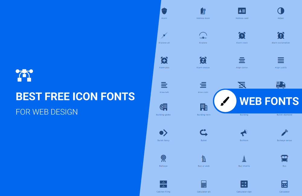 Read more about the article Icon fonts for Web and mobile development